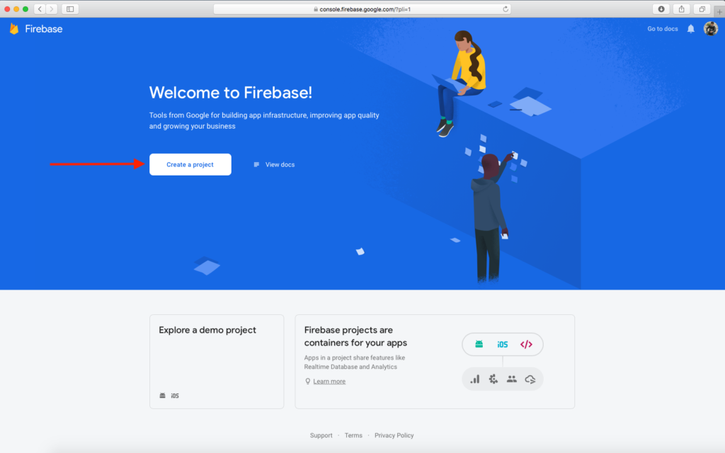 Getting Started with Firebase & Create First Project