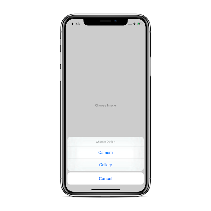 Action Sheet in IOS